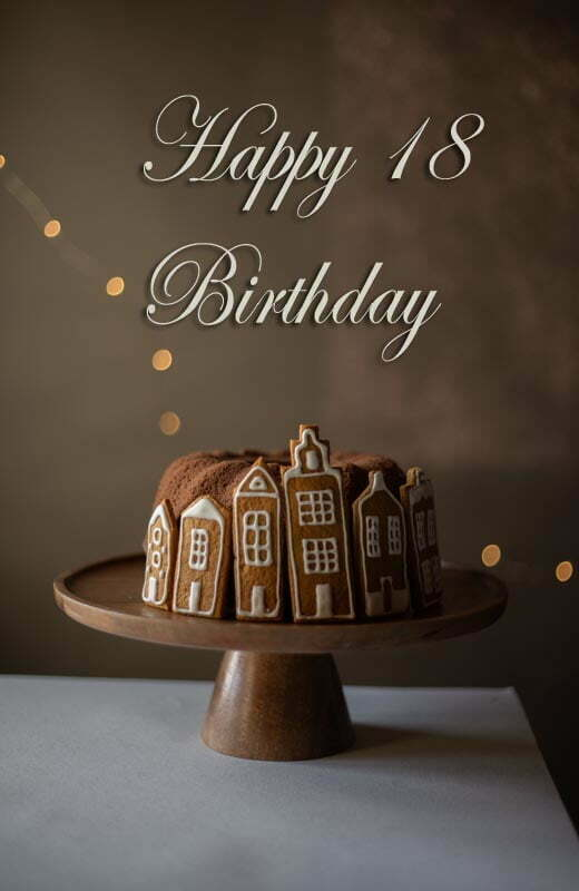 18th Birthday Cake Quote