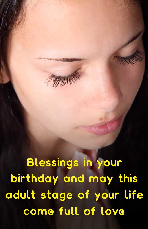 18th Birthday Christian Message For Daughter
