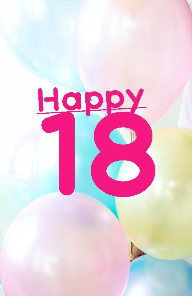 18th Birthday Greeting Card Verses