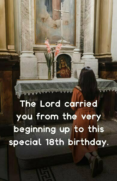 18th Birthday Prayer Wishes