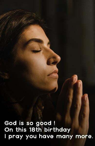 18th Birthday Religious Wishes