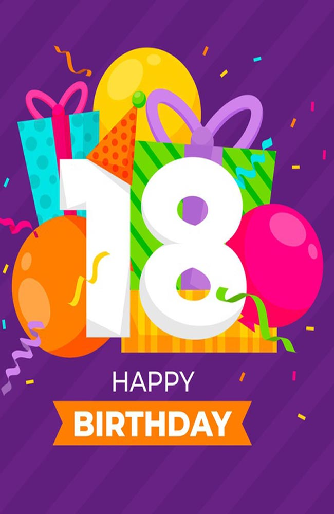 18th Birthday Wishes Images