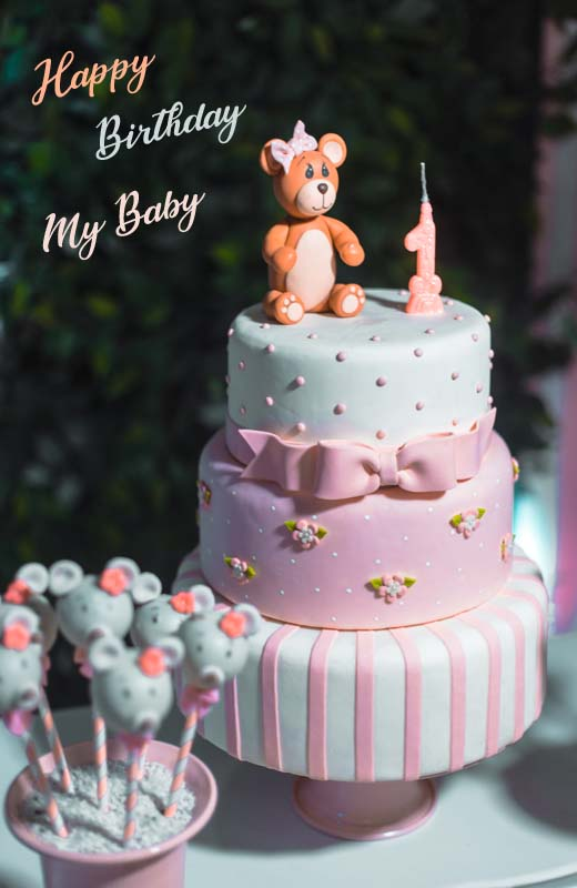 1st Birthday Message For Baby Boy From Mother