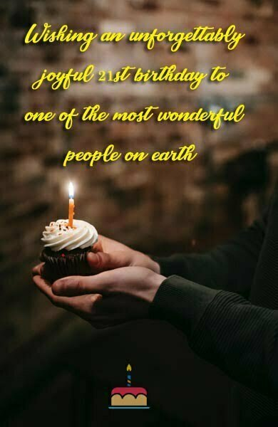Beautiful 21st Birthday Quotes