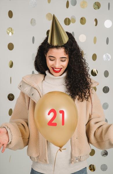 Beautiful 21st Birthday Wishes
