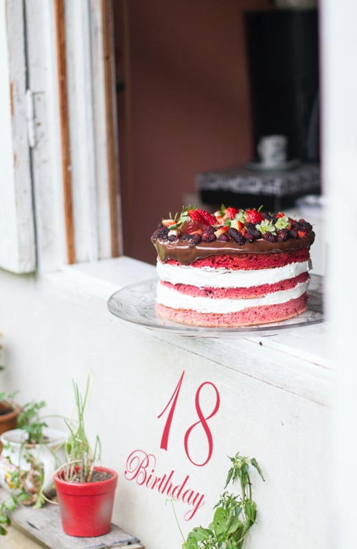 Birthday Cake for 18th Birthday Boy