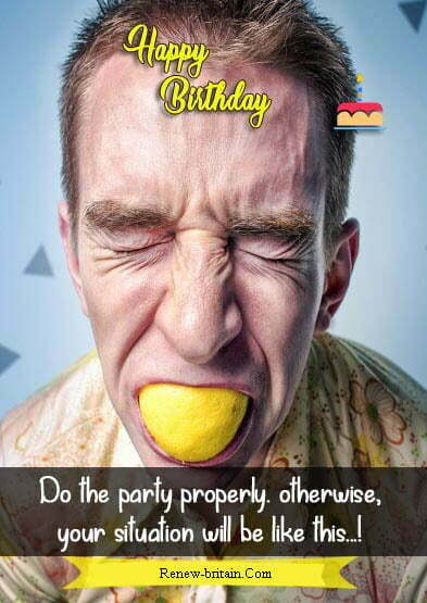 Funny Birthday Wishes For Son From Parents