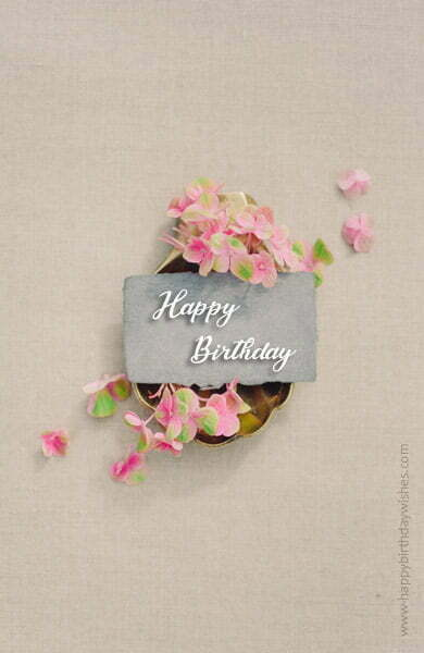 Happy Birthday Wishes SMS for Sister