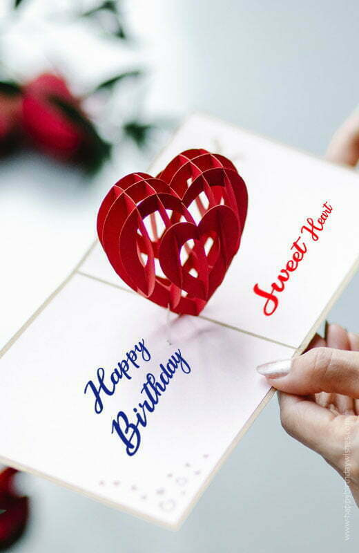 Heart Touching Birthday Wishes For Girlfriend