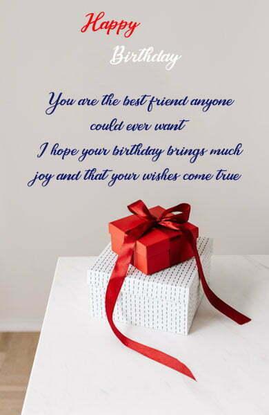 Long Emotional Birthday Wishes For Best Friend Boy